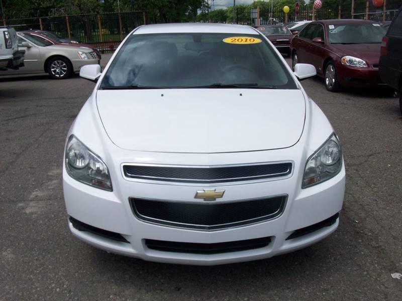 2010 Chevrolet Malibu  Miles 95605Color White Stock 3950b VIN 1G1ZC5EB3AF233643