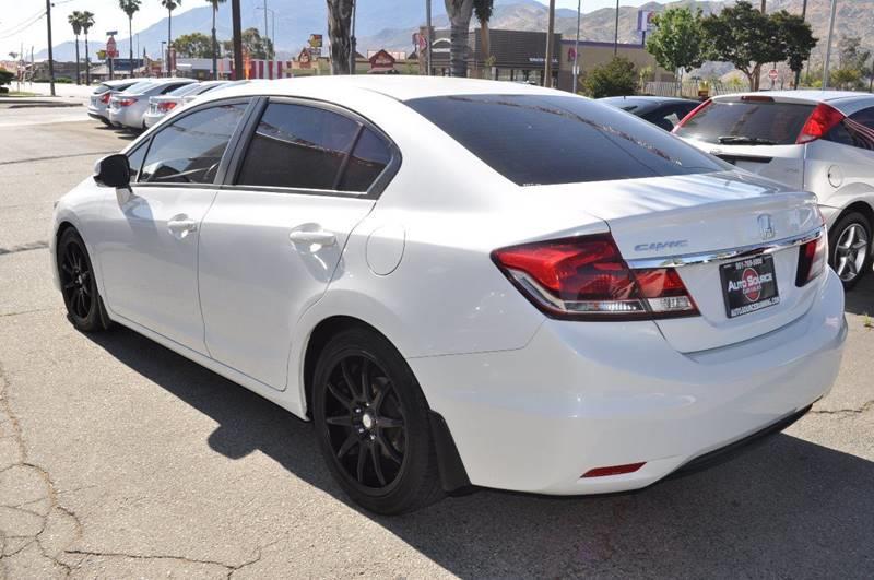 2013 Honda Civic Ex L 4dr Sedan W/navi In Banning Ca   Auto