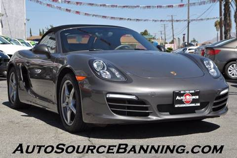 2013 Porsche Boxster for sale in Banning, CA