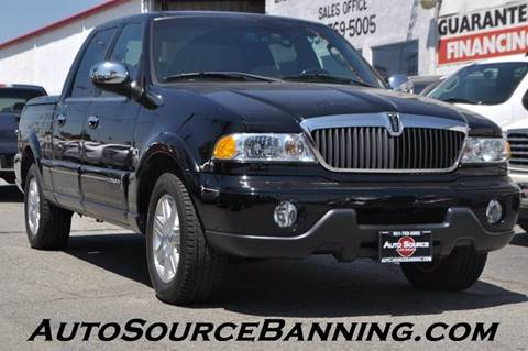 2002 Lincoln Blackwood for sale in Banning, CA