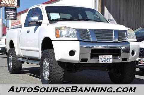 2005 Nissan Titan for sale in Banning, CA