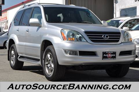 2008 Lexus GX 470 for sale in Banning, CA