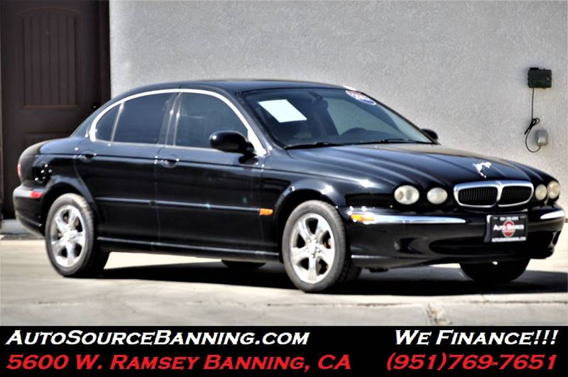 2002 Jaguar X Type For Sale At Auto Source II In Banning CA