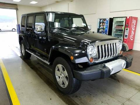 2010 Jeep Wrangler Unlimited for sale in Banning, CA