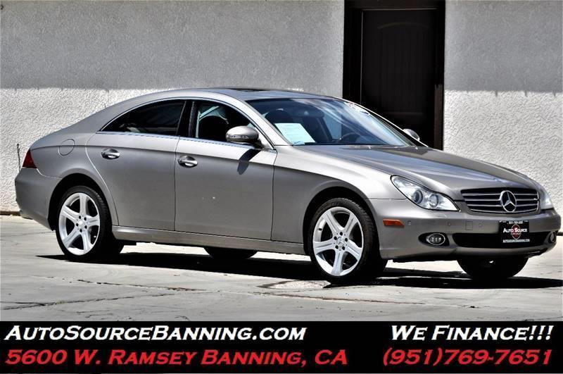 2006 Mercedes-Benz CLS for sale at Auto Source II in Banning CA