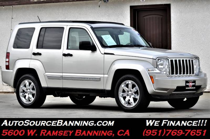 2008 Jeep Liberty For Sale At Auto Source II In Banning CA