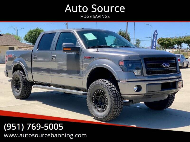2013 Ford F-150 for sale at Auto Source in Banning CA