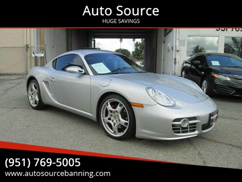 2006 Porsche Cayman for sale in Banning, CA