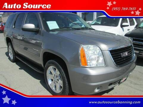 2007 GMC Yukon for sale at Auto Source II in Banning CA