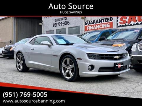 2011 Chevrolet Camaro for sale at Auto Source in Banning CA