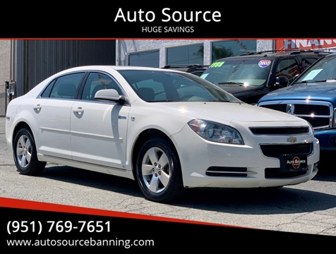 2008 Chevrolet Malibu Hybrid for sale in Banning, CA