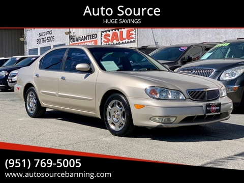 2000 Infiniti I30 for sale in Banning, CA