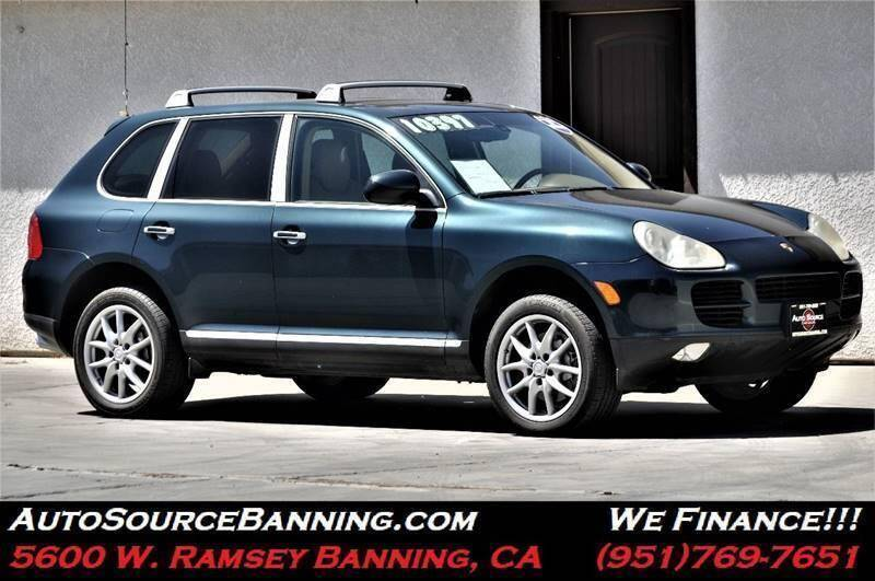 2004 Porsche Cayenne for sale at Auto Source in Banning CA