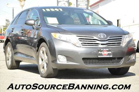 2009 Toyota Venza for sale at Auto Source in Banning CA