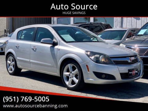 2008 Saturn Astra for sale at Auto Source in Banning CA