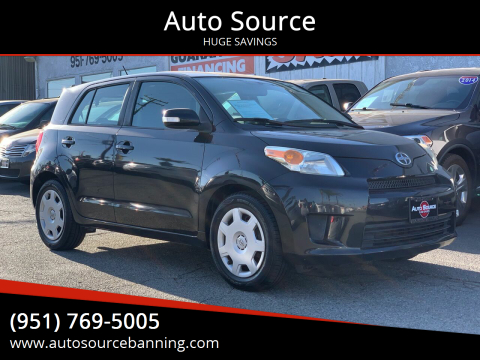 2010 Scion xD for sale at Auto Source in Banning CA