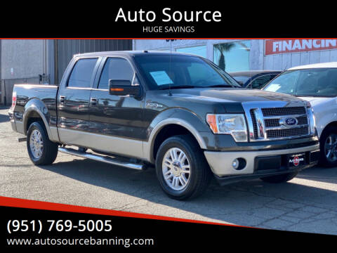 2009 Ford F-150 for sale at Auto Source in Banning CA