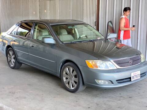 2001 Toyota Avalon for sale at Auto Source in Banning CA