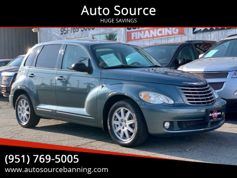 2006 Chrysler PT Cruiser for sale at Auto Source in Banning CA
