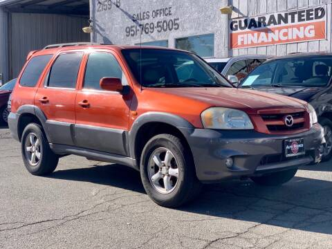 2005 Mazda Tribute for sale at Auto Source in Banning CA