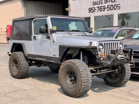 2006 Jeep Wrangler for sale at Auto Source in Banning CA