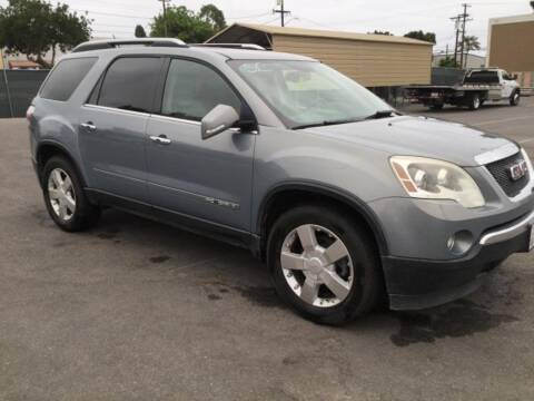 2008 GMC Acadia for sale at Auto Source in Banning CA