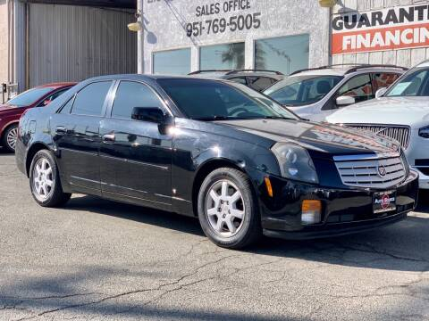 2007 Cadillac CTS for sale at Auto Source in Banning CA