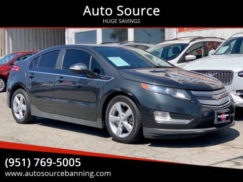 2014 Chevrolet Volt for sale at Auto Source in Banning CA