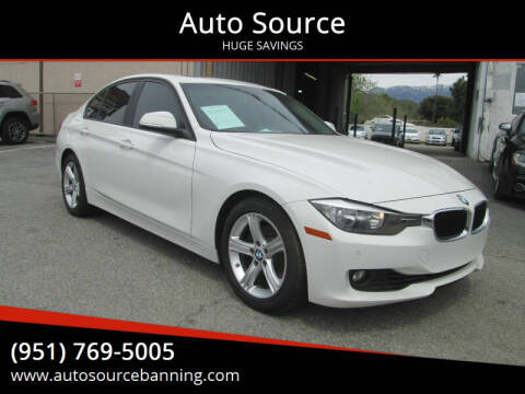 2013 BMW 3 Series for sale at Auto Source in Banning CA