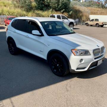 2013 BMW X3 for sale at Auto Source in Banning CA