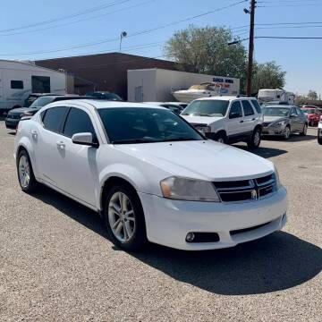 2012 Dodge Avenger for sale at Auto Source in Banning CA