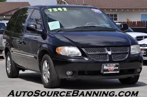 2003 Dodge Grand Caravan for sale in Banning, CA