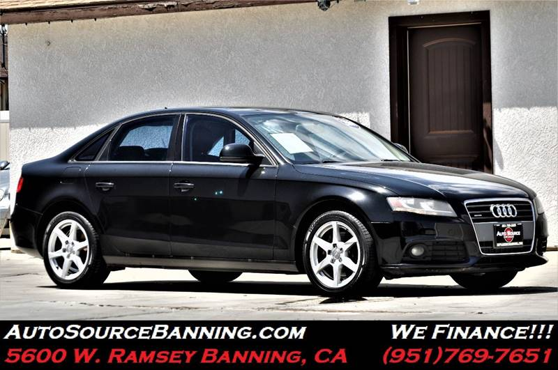 2009 Audi A4 20t Quattro In Banning Ca Auto Source