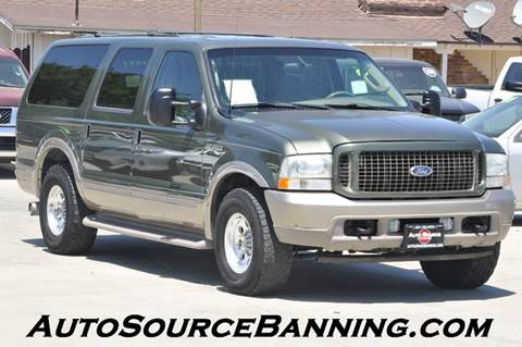 2003 Ford Excursion for sale in Banning, CA