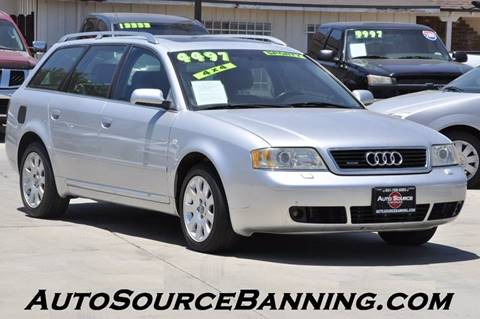 2001 Audi A6 for sale in Banning, CA