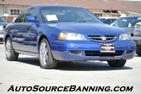 2003 Acura CL for sale in Banning, CA