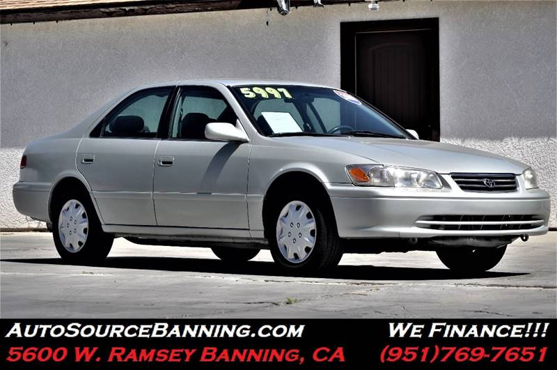 2000 toyota camry le v6 in banning ca auto source. Black Bedroom Furniture Sets. Home Design Ideas