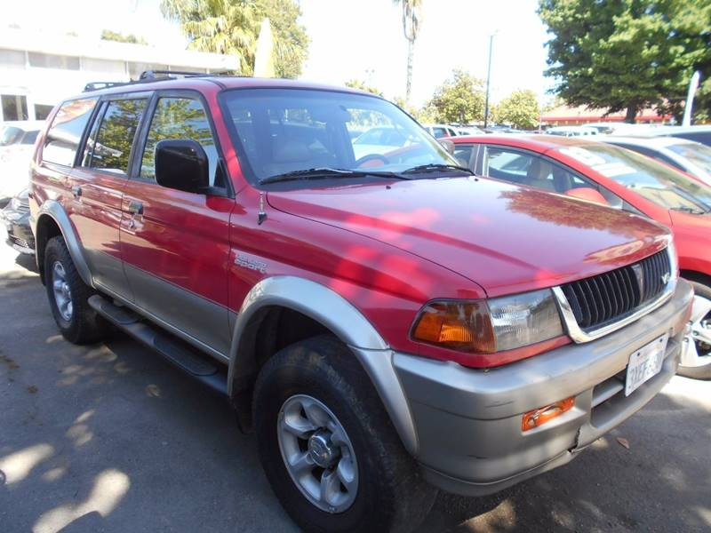 1998 Mitsubishi Montero Sport for sale at CALIFORNIA AUTOMART in San Jose CA