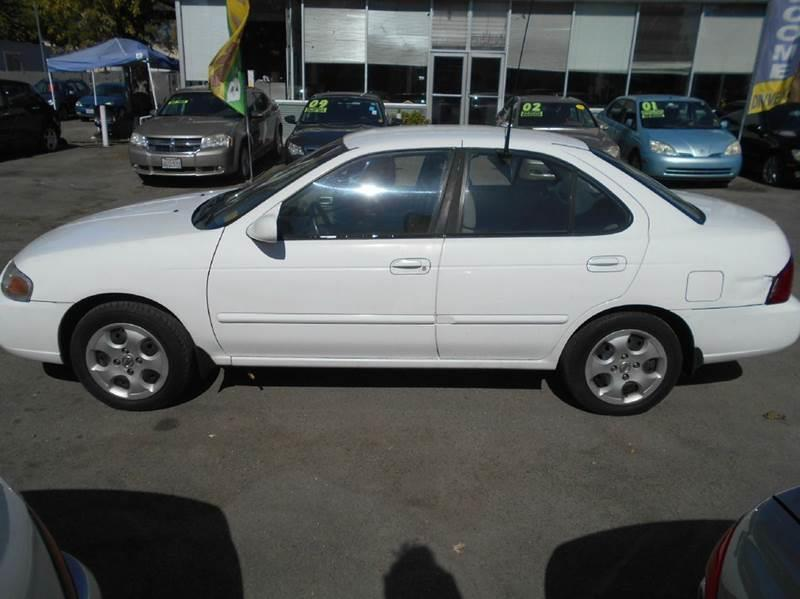 2004 Nissan Sentra for sale at CALIFORNIA AUTOMART in Gilroy CA