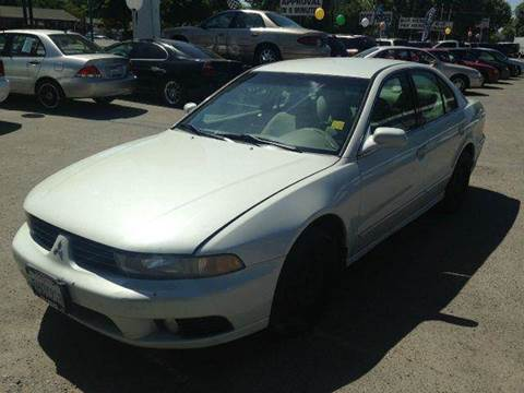 2002 Mitsubishi Galant for sale at CALIFORNIA AUTOMART in San Jose CA