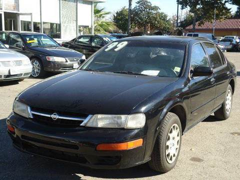 1999 Nissan Maxima for sale at CALIFORNIA AUTOMART in San Jose CA