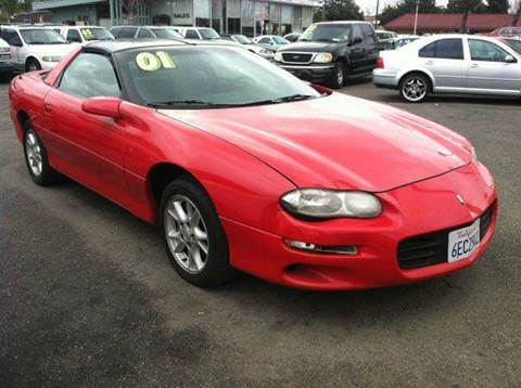 2001 Chevrolet Camaro for sale at CALIFORNIA AUTOMART in San Jose CA