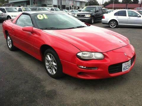 2001 Chevrolet Camaro for sale at CALIFORNIA AUTOMART in San Jose CA