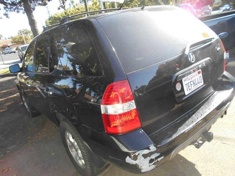 2002 Acura MDX for sale at CALIFORNIA AUTOMART in San Jose CA