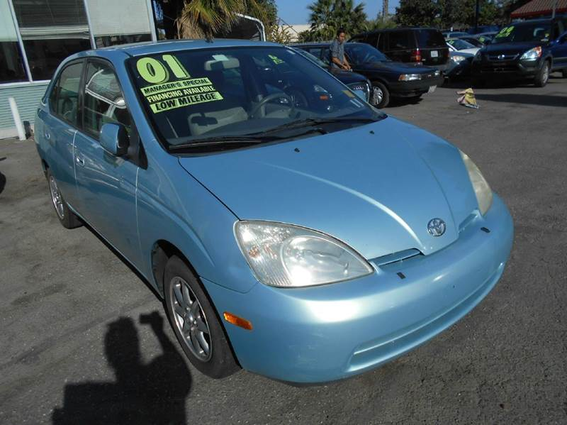 2001 Toyota Prius for sale at CALIFORNIA AUTOMART in San Jose CA