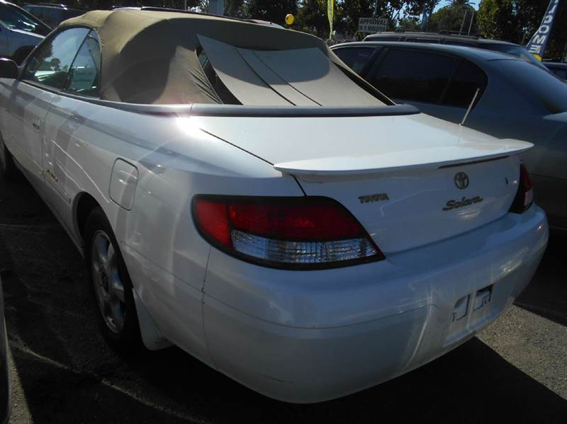 2000 Toyota Camry Solara for sale at CALIFORNIA AUTOMART in San Jose CA