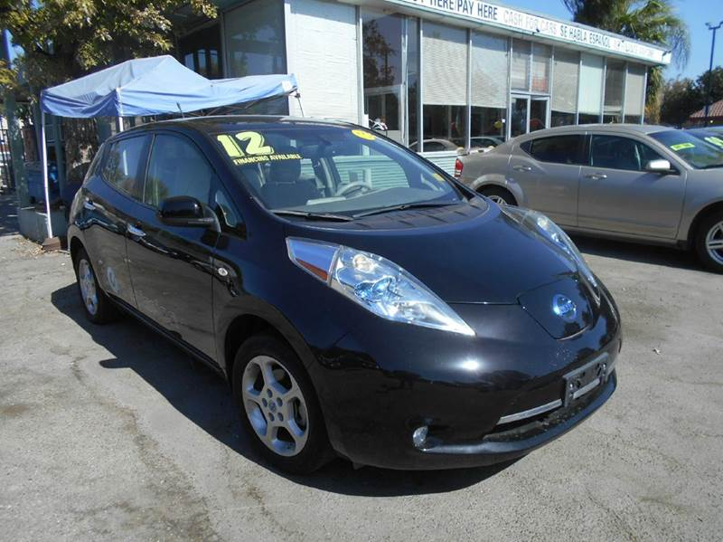 2012 Nissan LEAF for sale at CALIFORNIA AUTOMART in San Jose CA