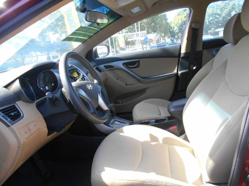 2013 Hyundai Elantra for sale at CALIFORNIA AUTOMART in San Jose CA