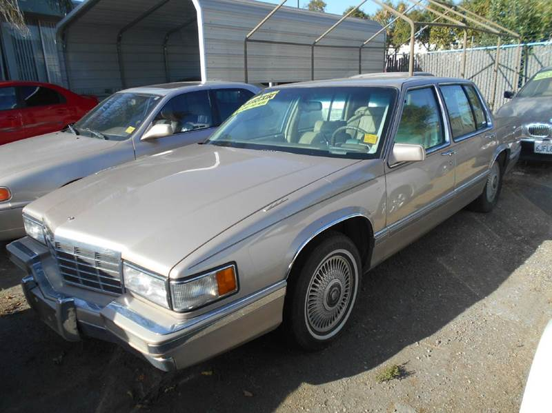 1993 Cadillac DeVille for sale at CALIFORNIA AUTOMART in San Jose CA