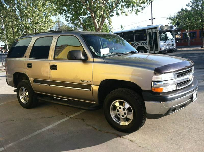 2002 Chevrolet Tahoe for sale at CALIFORNIA AUTOMART in San Jose CA